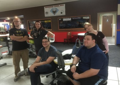 College and Career Singles Bowling Party