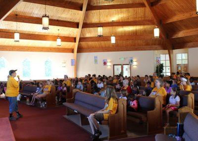 Worship Rally with Head Coach Pattie