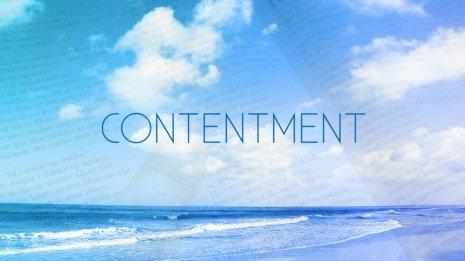 Contentment: Community
